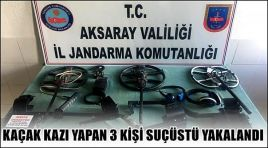 DEFİNE AVCILARINA JANDARMADAN DARBE