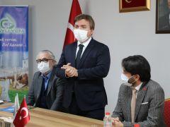 VALİ HAMZA AYDOĞDU ORTAKÖY'Ü ZİYARET ETTİ